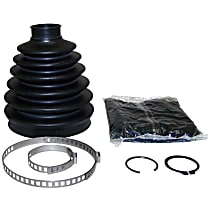 Crown 5066025AB CV Boot - Black, Metal, Rubber and Grease, Direct Fit, Kit