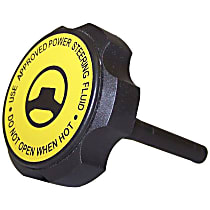 5073626AA Power Steering Reservoir Cap - Black, Metal and Plastic, Direct Fit, Sold individually