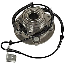 5154199AE Front, Driver or Passenger Side Wheel Hub Bearing included - Sold individually