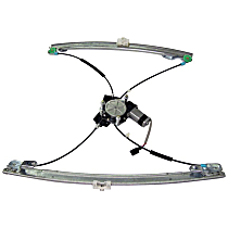 5170941AA Front, Driver Side Power Window Regulator, With Motor