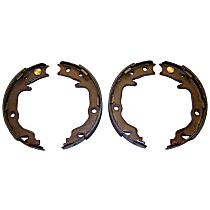 5191215AA Parking Brake Shoe - Direct Fit, 2-Wheel Set