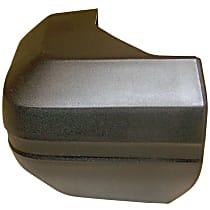 Rear, Passenger Side Plastic Bumper End, Primed