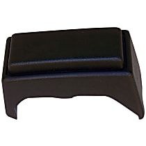 52000462 Bumper Guard - Front, Passenger Side, Black, Plastic, Direct Fit, Sold individually