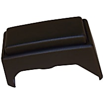Crown Bumper Guard - 52000463 - Front, Driver Side, Black, Plastic, Direct Fit, Sold individually