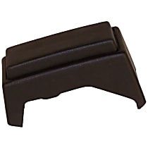 Crown Bumper Guard - 52000469 - Rear, Driver Side, Black, Plastic, Direct Fit, Sold individually