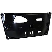 52003960 Transmission Skid Plate, Black, Steel, Direct Fit