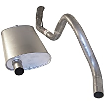 52018163 Muffler & Tailpipe - Direct Fit