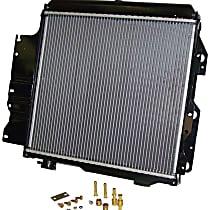 Aluminum Core Plastic Tank Radiator, 18.5 x 22 in. Core Size
