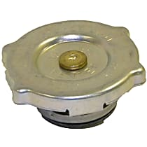 Crown Radiator Cap - 52079880AA - Round, 16 lbs., Polished, Steel, Sold individually