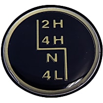 53004376 Shift Knob - Direct Fit, Sold individually