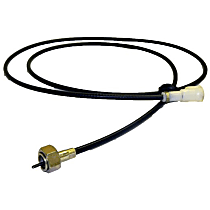 Crown 53005084 Speedometer Cable - Metal and Rubber, Direct Fit, Sold individually
