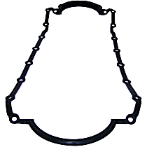 Oil Pan Gasket - Metal and Rubber, Direct Fit, Sold individually