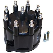 Crown 53008767 Distributor Cap - Black, Direct Fit, Kit