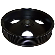 53010085 Power Steering Pump Pulley - Black, Metal, Direct Fit, Sold individually