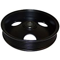 Crown 53010085 Power Steering Pump Pulley - Black, Metal, Direct Fit, Sold individually