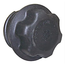 53032389AC Oil Filler Cap - Black, Plastic, Direct Fit, Sold individually