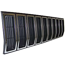Grille, Silver Shell w/ Black Insert