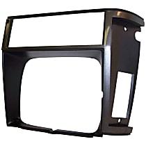 55000682 Headlight Bezel - Gray, Direct Fit, Sold individually
