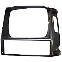 55000683 Headlight Bezel - Gray, Direct Fit, Sold individually