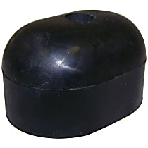 55013350 Spare Tire Stop - Black, Rubber, Direct Fit