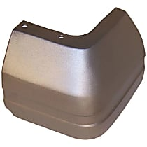 55022103 Rear, Driver Side Plastic Bumper End, Primed