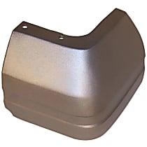 Rear, Driver Side Plastic Bumper End, Primed