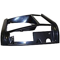 55034074 Headlight Bezel - Black, Direct Fit, Sold individually