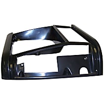 Crown 55034074 Headlight Bezel - Black, Direct Fit, Sold individually