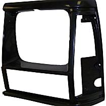 55034075 Headlight Bezel - Black, Direct Fit, Sold individually