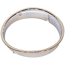 55055046 Headlight Bezel - Chrome, Direct Fit, Sold individually