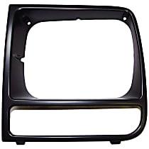 55055137 Headlight Bezel - Black, Direct Fit, Sold individually