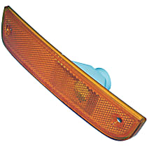 55055147 Side Marker Lens - Front, Driver Side, Direct Fit, Amber, Plastic, Sold individually