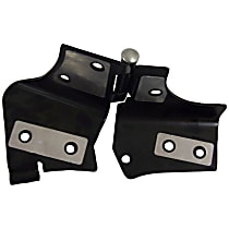 Crown 55075702AH Windshield Hinges - Black, Steel, Direct Fit, Sold individually