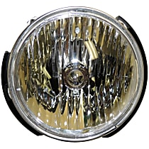 55078149AC Driver Side Halogen Headlight, With bulb(s)
