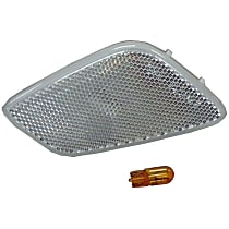 55155628ABC Front, Passenger Side Side Marker, With bulb(s)