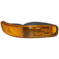 Front, Passenger Side Parking Light, Without bulb(s)
