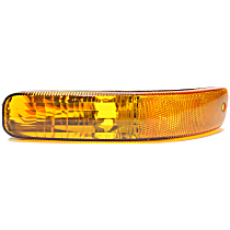 Front, Driver Side Parking Light, Without bulb(s)