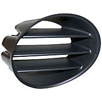 Passenger Side Fog Light Trim, Black