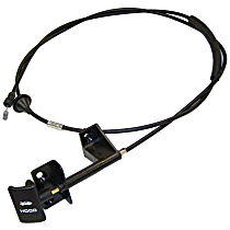 Crown 55235483AD Hood Cable - Direct Fit, Sold individually