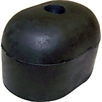 55345519 Spare Tire Stop - Black, Rubber, Direct Fit