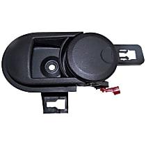 55395406AC Front, Passenger Side Interior Door Handle, Black