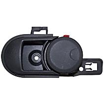 Front or Rear, Driver Side Interior Door Handle, Black