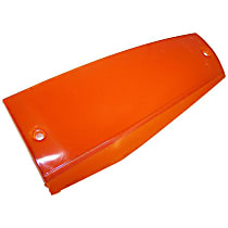 Crown Side Marker Lens - 56000638 - Front, Passenger Side, Direct Fit, Amber, Plastic, Sold individually