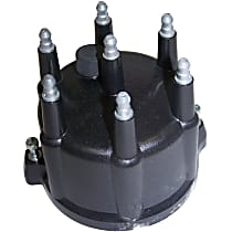 56026702 Distributor Cap - Black, Direct Fit, Sold individually