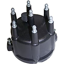 Crown 56026702 Distributor Cap - Black, Direct Fit, Sold individually