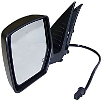 Driver Side Heated Mirror - Power Glass, Without memory, Chrome