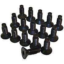 6035757K Windshield Hardware - Black, Direct Fit