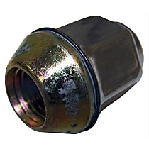 Lug Nut, Chrome, M12-1.50, Acorn Style, Sold Individually