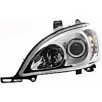 Driver Side Halogen Headlight, With bulb(s) - Models With (163) Chassis