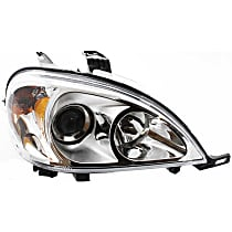 Passenger Side Halogen Headlight, With bulb(s) - Models With (163) Chassis